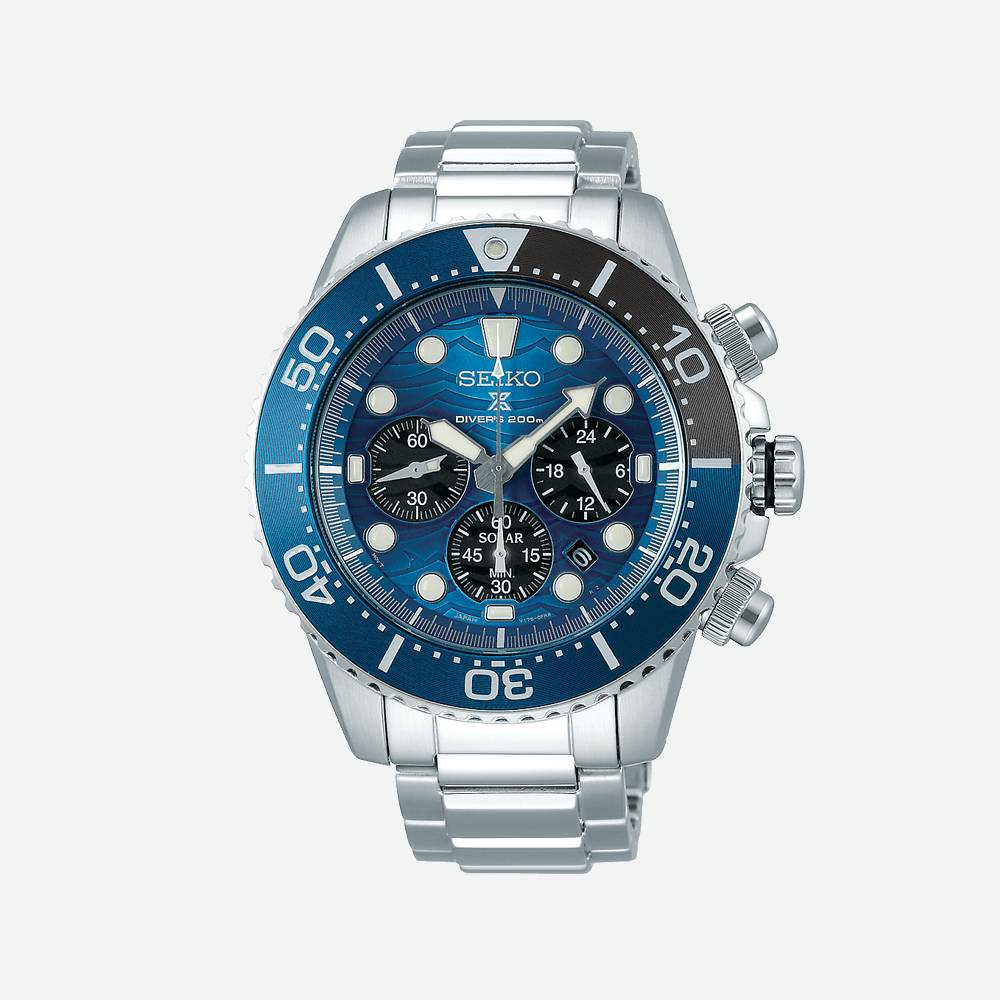 Montre homme Prospex Save The Ocean SSC741