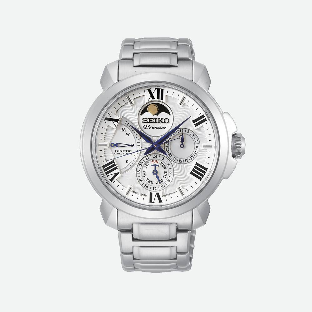 Montre homme Premier Kinetic Phase de lune SRX015